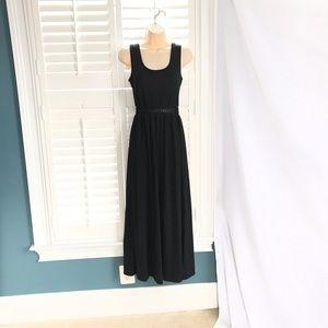 Xhilaration XS Black Maxi Dress